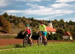 Radfahren Lauterachtal Amberg