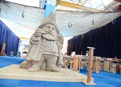 Sand Skulpturen Lübeck