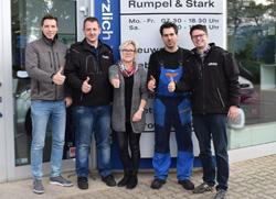Bild-klein-Autohaus-Rumpel-&-Stark,-Mitarbeiterjubilare,-9.10.2017