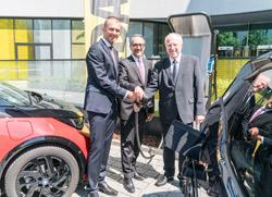 BMW Elektro ADAC