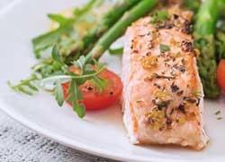 Lachs Essen Ernährung
